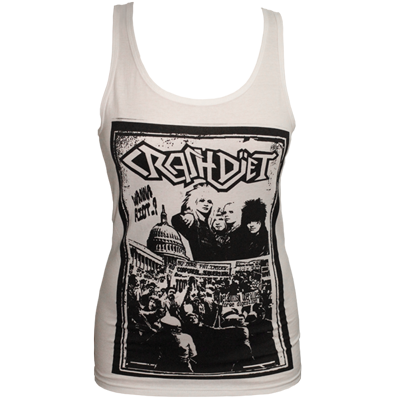 Wanna Riot...? Lady Tank Top