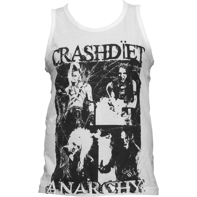 Anarchy Tank Top (White)