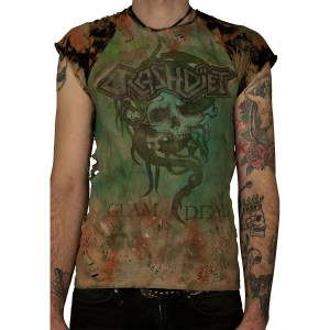 Terrorized - 27 - Glam Is Dead Tee front4